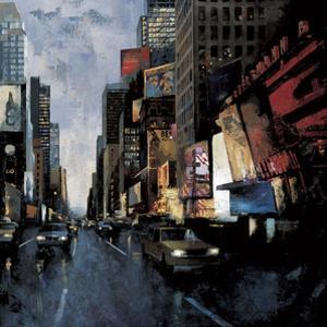 Times Square II by Marti Bofarull