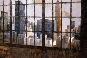 Window Over Empire State by Marti Bofarull