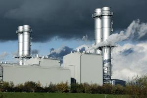 Combined Cycle Gas Turbine Power Station by Martin Bond