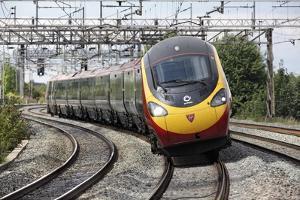Pendolino Tilting Train by Martin Bond