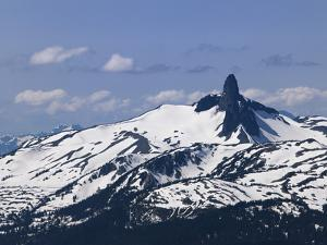 Black Tusk Mountain, Whistler, British Columbia, Canada, North America by Martin Child