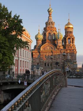 Church on Spilled Blood, UNESCO World Heritage Site, St Petersburg, Russia by Martin Child