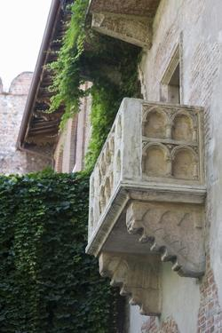 Juliet Balcony in Casa Di Giulietta, Verona, Italy by Martin Child
