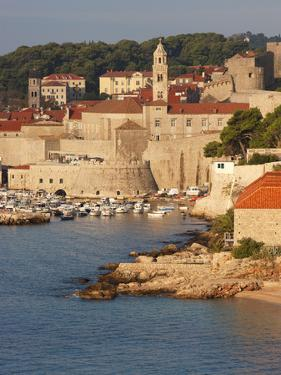 Old Town in Early Morning Light, UNESCO World Heritage Site, Dubrovnik, Croatia, Europe by Martin Child