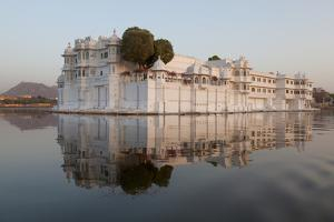 Perfect Reflection of Lake Palace Hotel, India by Martin Child