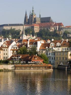 St. Vitus's Cathedral and Royal Palace on Skyline, Old Town, Prague, Czech Republic by Martin Child