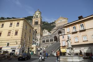 The Duomo Cattedrale Sant' Andrea in Amalfi by Martin Child