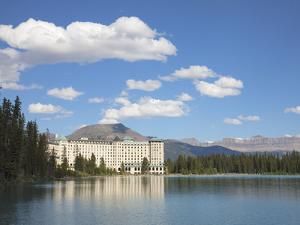 The Fairmont Chateau Lake Louise Hotel, Lake Louise, Banff National Park, UNESCO World Heritage Sit by Martin Child