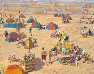 Holiday Beach, 2012 by Martin Decent