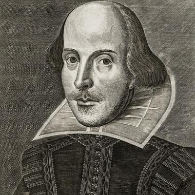 Portrait of William Shakespeare by Martin Droeshout, 1623