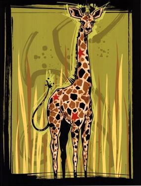 Giraffe by Martin French