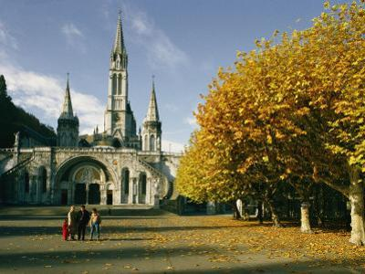 Basilica of the Immaculate Conception in Lourdes