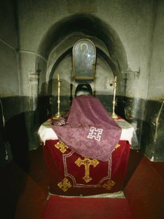 Coptic Monastery of Deir Al-Muharraq, Chapel of Mary