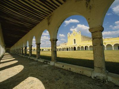 Courtyard of the Great Monastery of Izamal