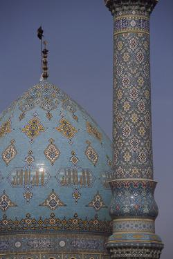 Dome and minaret of the Shrine of Jam Karan. by Martin Gray