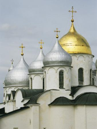 Domes of the Cathedral of St. Sophia