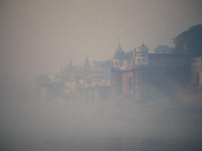 Early Morning Fog on the Ganges River