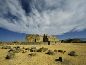 Mound J Astronomical Observatory, Monte Alban, Oaxaca by Martin Gray