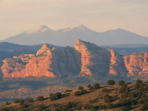 Sacred Kachina Peak and the Red Rocks by Martin Gray