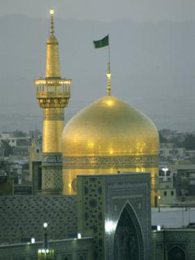 Shrine of Imam Reza, Eighth Shi'Ite Imam, Born in Medina in 765 Ad by Martin Gray