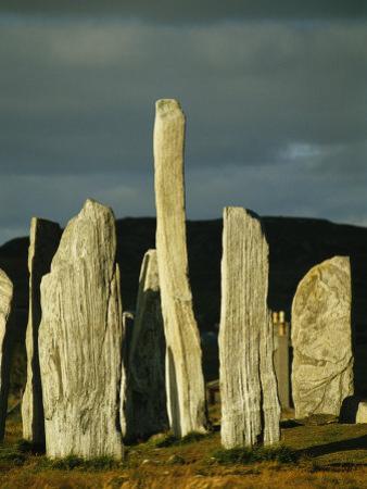 Standing Stones of Callanish at Sunset
