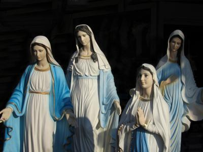 Statues of Mary, the Mother of Jesus