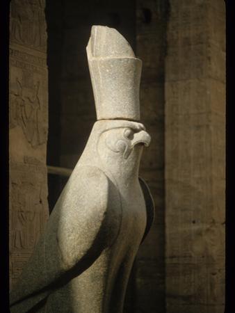 Stone Sculpture of Horus