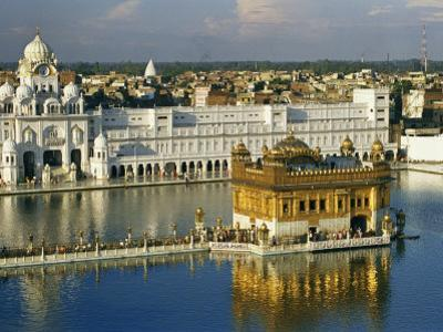 Temple Complex with the 16Th-Century Golden Temple at Amritsar