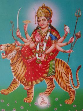 The Durga, Riding a Tiger by Martin Gray