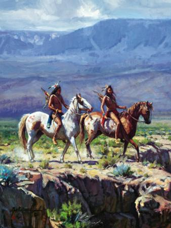 Scouts In Rough Country