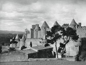 Carcassonne, France, 1937 by Martin Hurlimann