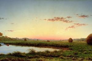 Haystacks on the Newburyport Marshes, 1862 by Martin Johnson Heade