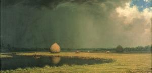Salt Marsh Hay, C.1865 by Martin Johnson Heade