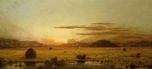 Sunrise, Hoboken Meadows, C.1875-1885 by Martin Johnson Heade