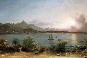 The Harbour at Rio De Janeiro, 1864 by Martin Johnson Heade