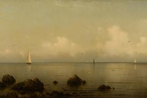 Thimble Island, CT, 1875-1876 by Martin Johnson Heade