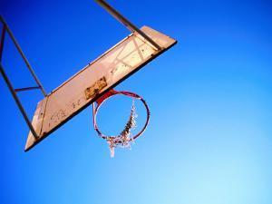 Worn Basketball Hoop, Copenhagen, Denmark by Martin Lladó