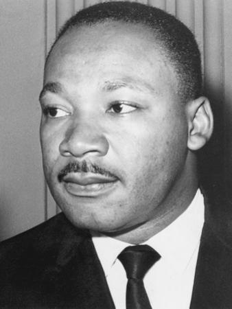 Martin Luther King Jnr, American Black Civil Rights Campaigner, C1968