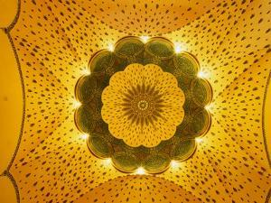 Art-Nouveau Dome of the Gellert Thermal Baths of Budapest, Hungary by Martin Moos