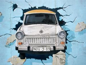 Berlin Wall Mural, East Side Gallery, Berlin, Germany by Martin Moos