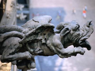 Gargoyle at Roof of Duomo, Milan, Italy