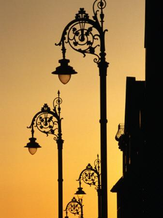 Georgian Lanterns at Sunset, Dublin, Ireland by Martin Moos