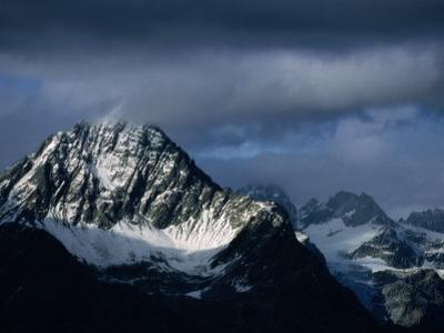 Peak of Piz Linard, Swiss National Park, Zernez, Switzerland