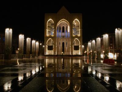 Place St. Lambert at Night, Liege, Belgium