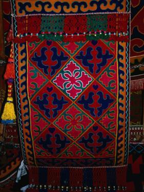 Textile decoration, Kyrgyzstan by Martin Moos