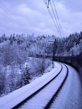Trans-Siberian (Transsib) Railway, Russia by Martin Moos