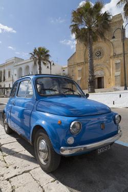 Old Fiat in Santa Cesarea Terme, Puglia, Italy, Europe by Martin