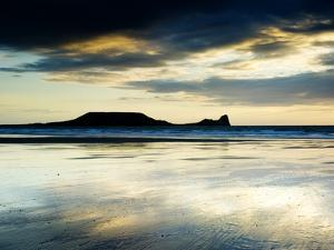 The Worms Head, Gower Peninsula, South Wales by Martin Page