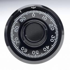 Close-up of Combination Lock Dial by Martin Paul