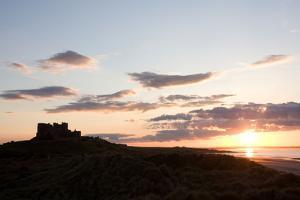 Bamburgh castle, Bamburgh, Northumberland, England, United Kingdom, Europe by Martin Pittaway